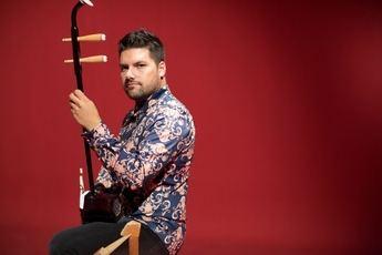 El hermano de Mike Oldfield colabora en el nuevo vídeo del músico toledano Carlos Garo