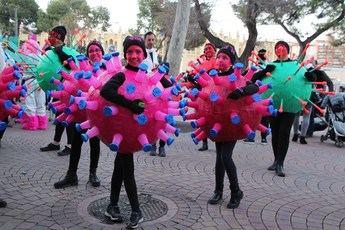 El coronavirus que 'anunciaban' los últimos carnavales de Albacete acaba también con Halloween