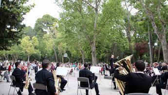 La Banda Sinfónica de Albacete concluye el ciclo de conciertos 'La Banda en tu Barrio' en el barrio de Fátima