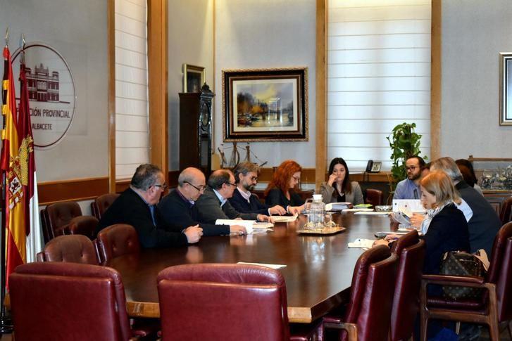 La Diputación constituye el Comité de seguimiento y permanente del proyecto 'Dipualba Protege'