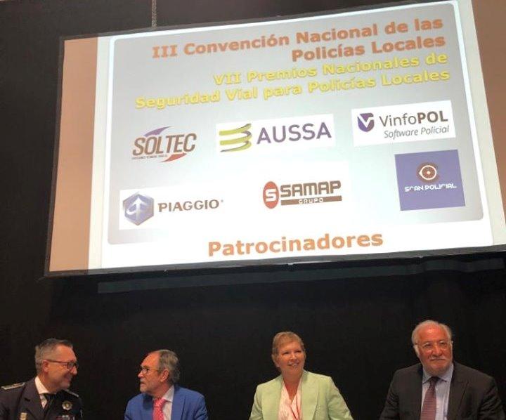 El jefe de la Policía Local de Albacete participa en la III convención sobre seguridad vial