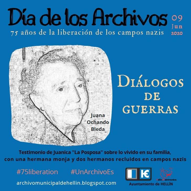 Hellín conmemora el Día de los Archivos en documentos de ciudadanos liberados en campos nazis