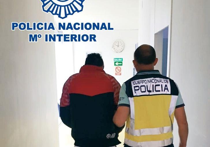Detenido en el centro de Albacete el autor de un robo con violencia y de un abuso sexual para robar a otra mujer
