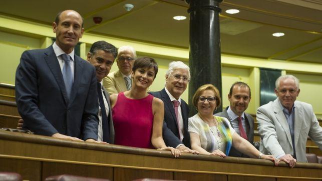 Siete diputados del PSOE de Castilla-La Mancha y dos de Podemos votan para derogar la prisión permanente revisable