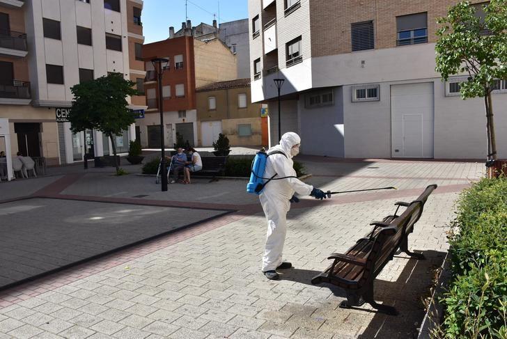 El servicio de limpieza de Albacete retoma las tareas de desinfección para prevenir rebrotes del coronavirus