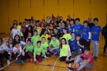 200 escolares de Cuenca participan en el proyecto 'Datchball, la batalla de los dinosaurios'