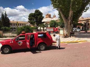 La Diputación de Albacete efectuará desinfecciones en los espacios públicos de Villamalea y de poblaciones limítrofes a través del SEPEI