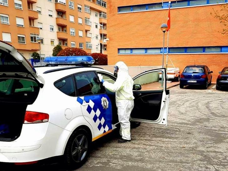 Solicitadas 140 actuaciones en la provincia de Albacete para la desinfección en edificios y vehículos municipales