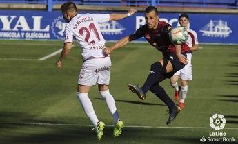Un gol de Mesa da al Albacete el triunfo ante el Extemadura y lo saca del descenso (0-1)