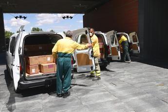 Castilla-La Mancha ha distribuido desde el inicio de la pandemia 18 millones de artículos de protección para sanitarios