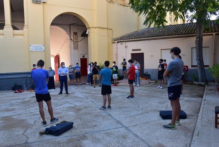 La Escuela Taurina de Albacete reanuda los entrenamientos presenciales de su alumnado