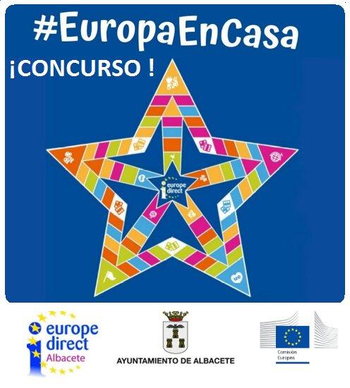 El Ayuntamiento de Albacete lanza el concurso #EuropaEnCasa sobre conocimientos de la Unión Europea