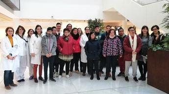 El Hospital de Villarrobledo acoge las I Jornadas de Integración y Accesibilidad para alumnos con discapacidades físicas o intelectuales