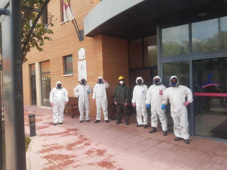 Cuatro residencias de mayores de Albacete son desinfectadas por el dispositivo de GEACAM