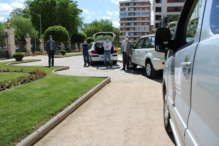 El parque móvil de Albacete realiza más de 350 servicios especiales durante la crisis sanitaria