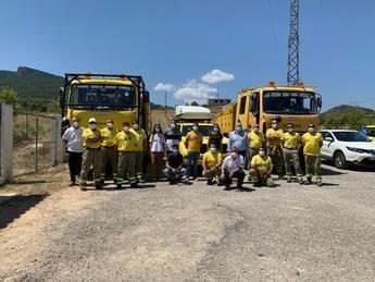 La Junta de Castilla-La Mancha pide precauciones para evitar incendios y reconoce la labor de INFOCAM en Albacete