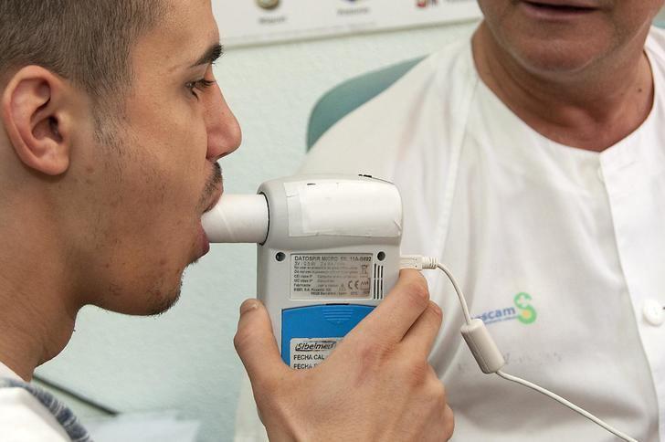 Profesionales de Atención Primaria del SESCAM han realizado más de 2.400 espirometrías en lo que va de año