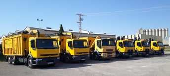 Medio Ambiente de la Diputación de Albacete adquiere 5 camiones para reforzar la recogida de envases y papel