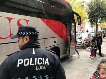 La Policía Local de Albacete participa en la campaña sobre el control de transporte escolar del 19 al 23 de febrero