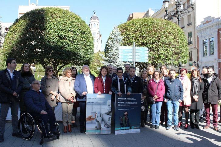 El Ayuntamiento de Albacete se suma a la conmemoriación de Día Mundial del Párkinson