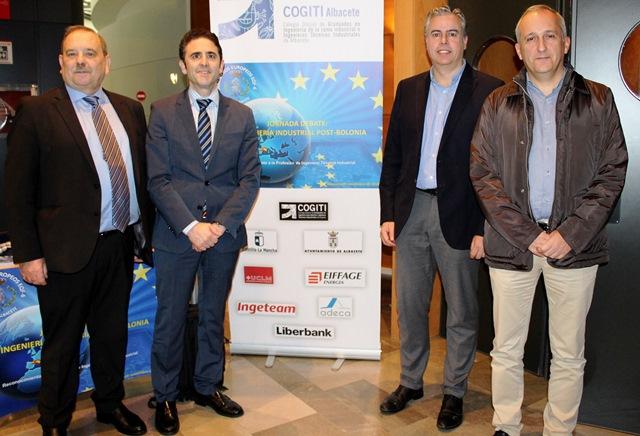 Jornada de debate 'La Ingeniería Industrial Post-Bolonia' organizada por COGITI Albacete