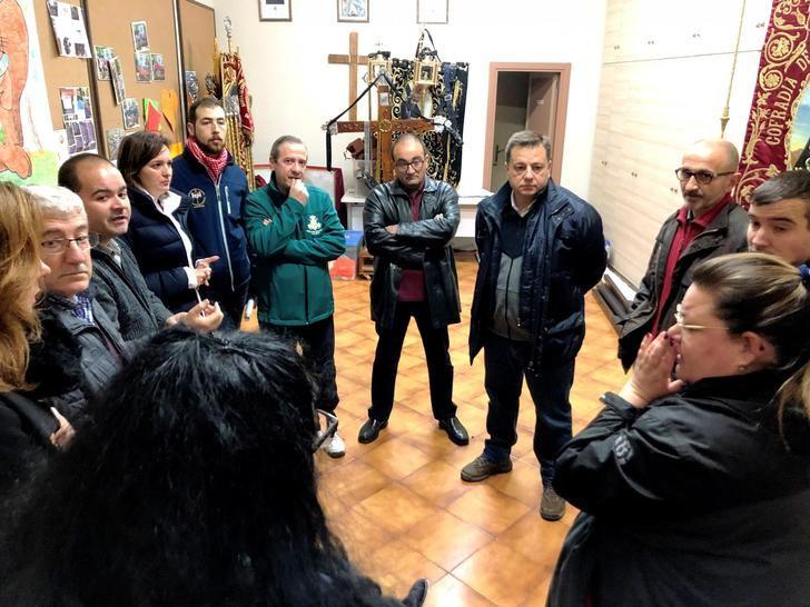 El 'Encuentro' de la Semana Santa 2019 se traslada del parque Abelardo Sánchez a la Plaza de Gabriel Lodares