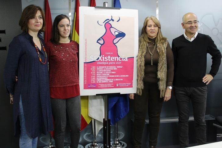 La Universidad Popular ofrece charlas y talleres 'Sexistencia' sobre aspectos de sexología