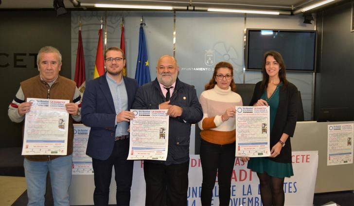 Albacete celebra la semana de sensibilización en torno a la diabetes mellitus