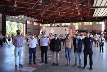 La Banda Sinfónica de Albacete homenajeó a los bomberos, policía y protección civil por su labor durante el estado de alarma