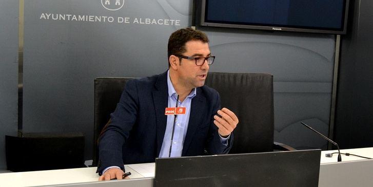 Belinchón (PSOE) culpa al alcalde de que Albacete ya no sea Plataforma Logística