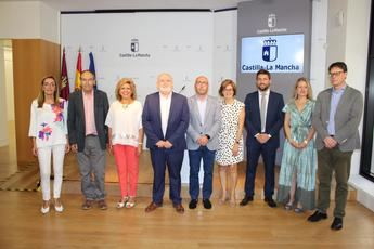 Presentados los delegados provinciales de la Junta de Comunidades en Albacete para la X Legislatura autonómica