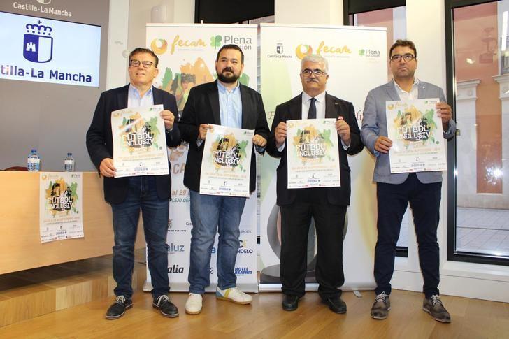 El Gobierno de Castilla-La Mancha reconoce la labor de FECAM por la plena inclusión de deportistas con discapacidad