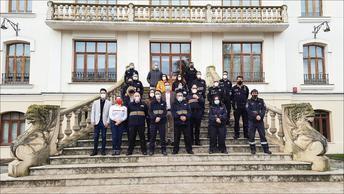 La Escuela de Protección Ciudadana imparte un curso sobre desfibriladores en la provincia de Albacete