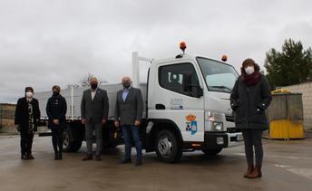 El Ayuntamiento de Munera cofinancia un nuevo camión de recogida de residuos