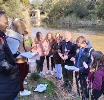 La Delegación de desarrollo sostenible fomenta excursiones a centros escolares para conocer el paisaje