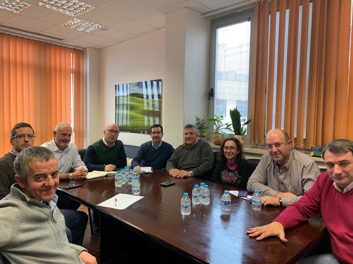 Ramón Sáez mantiene su primer encuentro con ASAJA Albacete