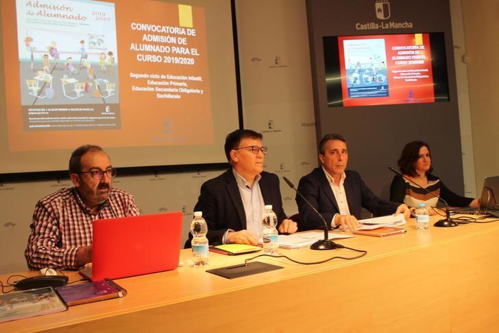 Comienza en Albacete el proceso de solicitud de plaza vacante para el próximo curso escolar