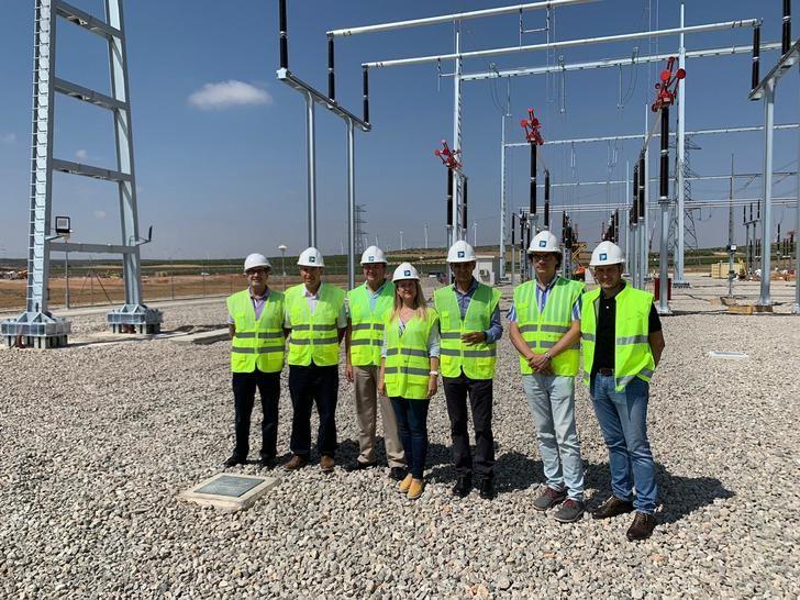 La Red Eléctrica de España invierte en la subestación de Campanario, en Bonete (Albacete)