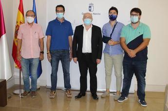 Castilla-La Mancha reconoce la labor realizada por la asociación de jóvenes empresarios de Albacete y provincia