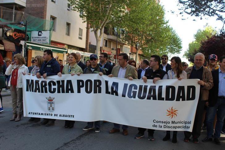 Albacete celebra la XIII edición de la Marcha por la Igualdad de las personas con discapacidad