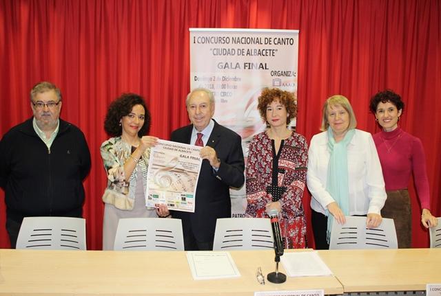 Presentado el I Concurso Nacional de Canto 'Ciudad de Albacete'