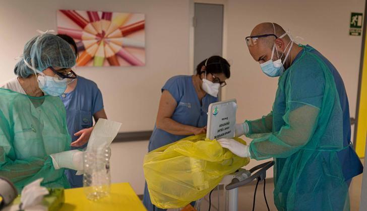 Los hospitales de Almansa y Villarrobledo implantan medidas para reorganizar la actividad asistencial