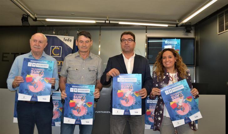La Federación de Comercio de Albacete se une al Ayuntamiento para incentivar las compras en el comercio de la ciudad