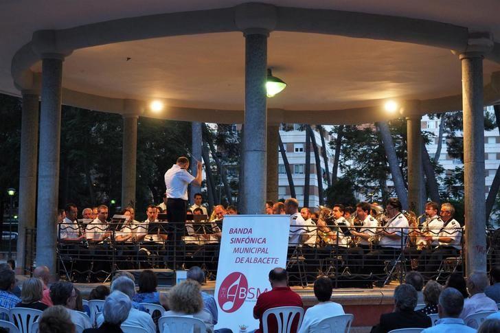 La Banda Sinfónica de Albacete ofrecerá un concierto al aire libre el 11 de junio en el Abelardo Sánchez