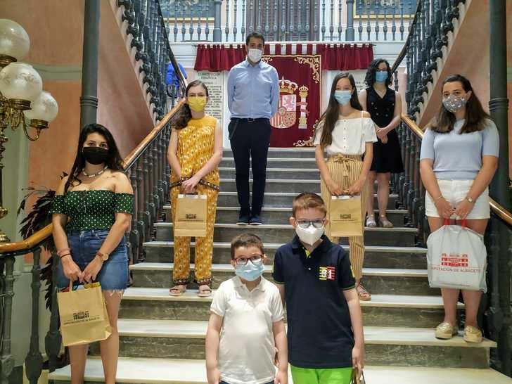 Entrega de premios del certamen de relato 'Mi verano del 2020' impulsado por la Diputación