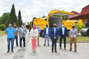 Dos nuevos camiones se incorporan al programa de recogida selectiva de envases de la Diputación de Albacete