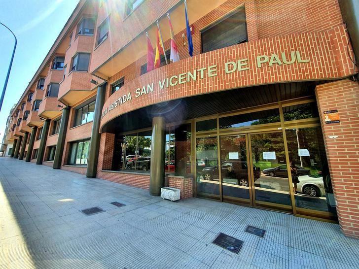 La Diputación de Albacete traslada tranquilidad tras el positivo detectado en la residencia de San Vicente de Paúl