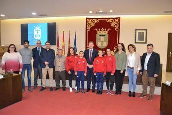 Cuatro gimnastas de Albacete participaron en el Campeonato Mundial de Trampolín