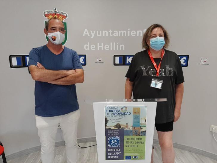 El Ayuntamiento de Hellín estrena participación en la Semana Europea de la Movilidad