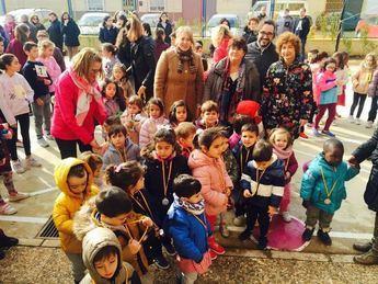 Jornadas de hábitos saludables organizadas en el colegio Pedro Simón Abril de Santa Ana (Albacete)